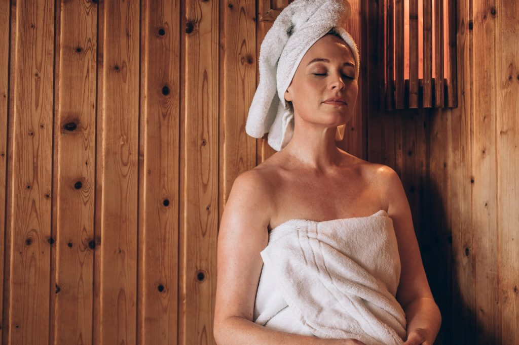 Sauna sessions for optimal ageing